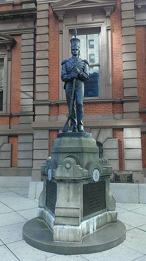 Washington Grays Monument - Washington Grays Monument, Philadelphia
