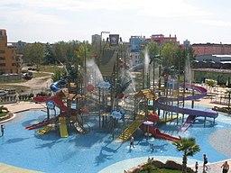 Water park children's slide,Sunny Beach Bulgaria - panoramio