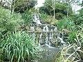 Waterfall in Queen Mary's Gardens, Regent's Park - geograph.org.uk - 1359702.jpg