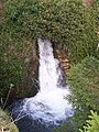 Waterfall on Dale Brook, Stoney Middleton - geograph.org.uk - 1713604.jpg