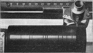 The Silent Speaker - Cylinder on Dictaphone dictation machine