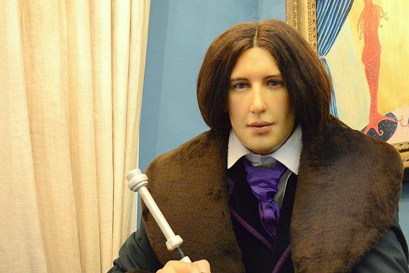 File:Wax statue of Oscar Wilde, National Wax Museum Plus, Dublin.jpg
