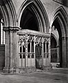 Wells Cathedral, Chantry in Nave by Francis Bedford.jpg