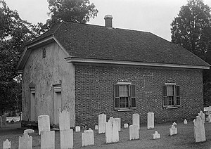 Welsh Tract Baptist Church - Welsh Tract Baptist Church in 1936