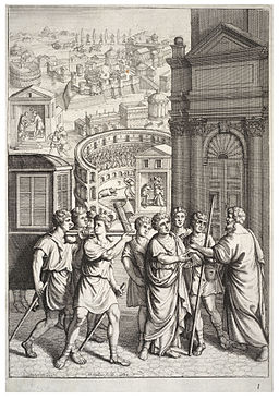 Wenceslas Hollar - Rome's depravity (State 2)