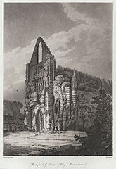 West Front of Tintern Abbey, Monmouthshire