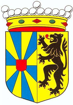 Wapenschild van de provincie West-Vlaanderen