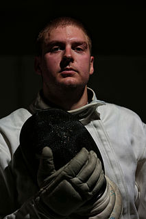 Weston Kelsey American épée fencer