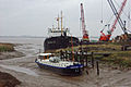 Wet Day at Barrow Haven - geograph.org.uk - 307452.jpg