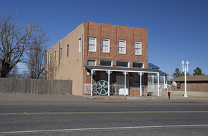 Whiteface, Texas - Former Whiteface Hotel, now a museum
