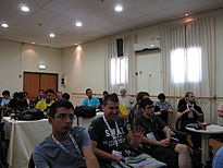 Wikimania 2011, Chapters Meeting (001).JPG