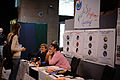 Wikimania 2014 WMF Grantmaking Booth 05.JPG