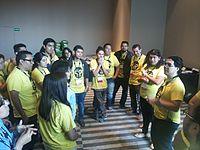 Wikimania 2015-Thursday-Volunteers (4).jpg