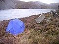 Wild camp at Llyn Hywel. - geograph.org.uk - 1553691.jpg