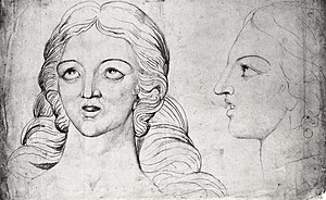 Corinna - Image: William Blake, Visionary Head of Corinna The Theban smaller
