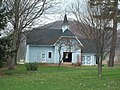 William E. Wheeler House - Carriage House Apr 10.JPG