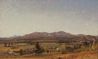 Mount Chocorua and Moat Mountain from North Conway