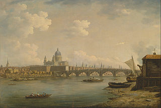 St. Paul's and Blackfriars Bridge