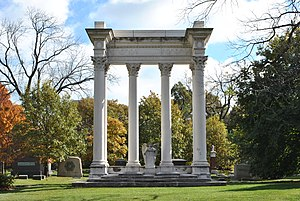 William Wallace Kimball - Tomb at Graceland Cemetery in Chicago.