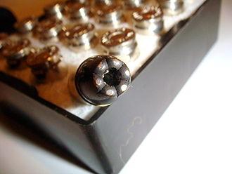 Black Talon - Detail of 9mm Black Talon bullet