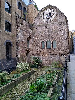 Winchester Palace Twelfth-century palace in London