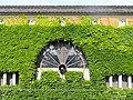 Window of courtyard in Kurashiki ivy Square.JPG