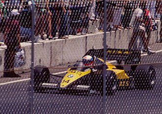 ATS (wheels) - Manfred Winkelhock in the ATS D7 at the 1984 Dallas Grand Prix