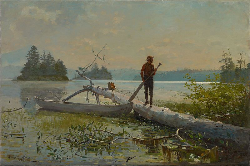 File:Winslow Homer - The Trapper.jpg