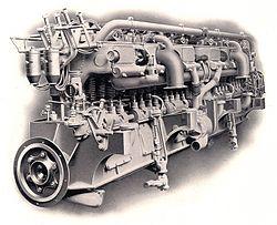 Straight 12 Engine