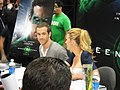 WonderCon 2011 - Ryan Reynolds and Blake Lively from the Green Lantern movie (5580822813).jpg