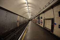 WoodGreen - Looking north on the eastbound platform before (4571320638).jpg