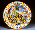 Workshop of the Fontana family - Dish with the Abduction of Helen - Walters 481375.jpg
