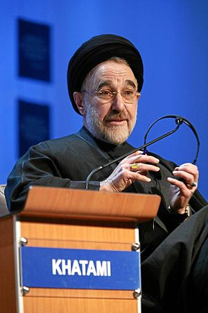 Presidency of Mohammad Khatami - Khatami in world economic Forum Annual Meeting Davos 2007