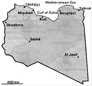 World Factbook (1990) Libya.jpg