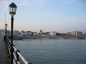 Worthing - View of the Seafront from Worthing Pier