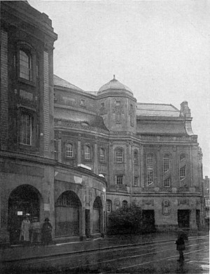 Opernhaus Wuppertal - The building in 1905
