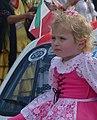 XXXIV Fiesta Nacional del Inmigrante - desfile - niña de la colectividad italiana.JPG