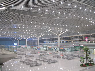 Xi'an North Railway Station - Main station concourse