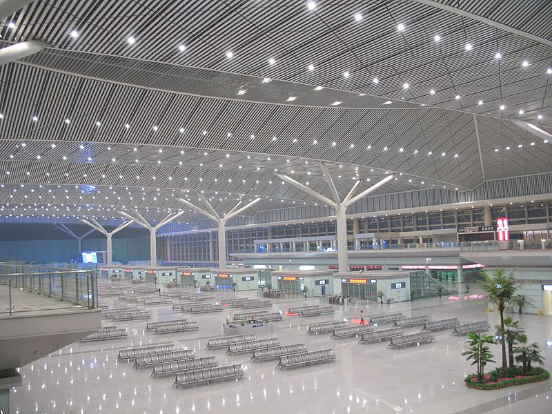Xi%27an North Railway Station abend.JPG