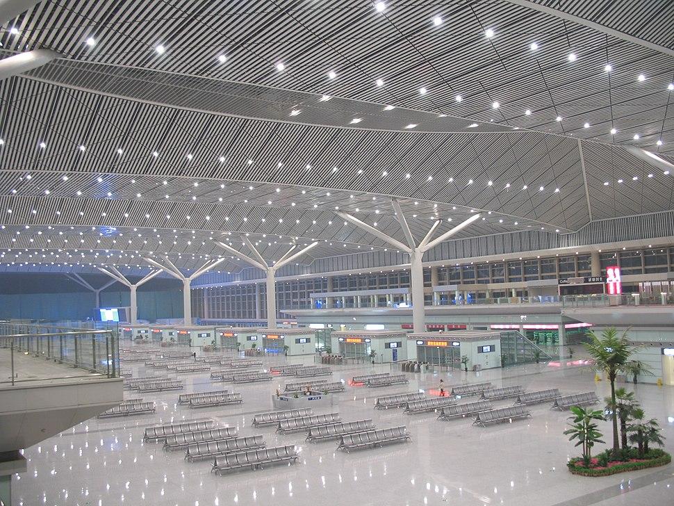 Xi%27an North Railway Station abend