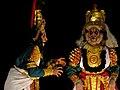 Yakshagana Performance at NINASAM (India Theatre Forum Stuyd Tour May 2013) (8764507892).jpg