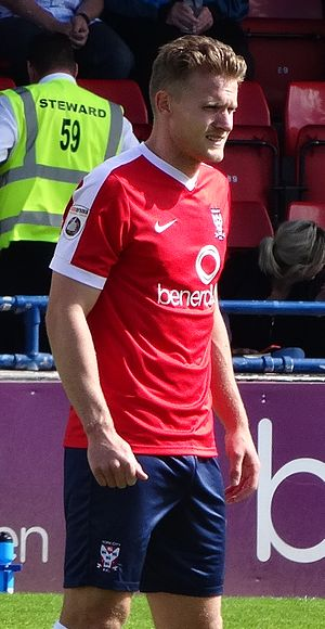Yan Klukowski - Klukowski playing for York City in 2016
