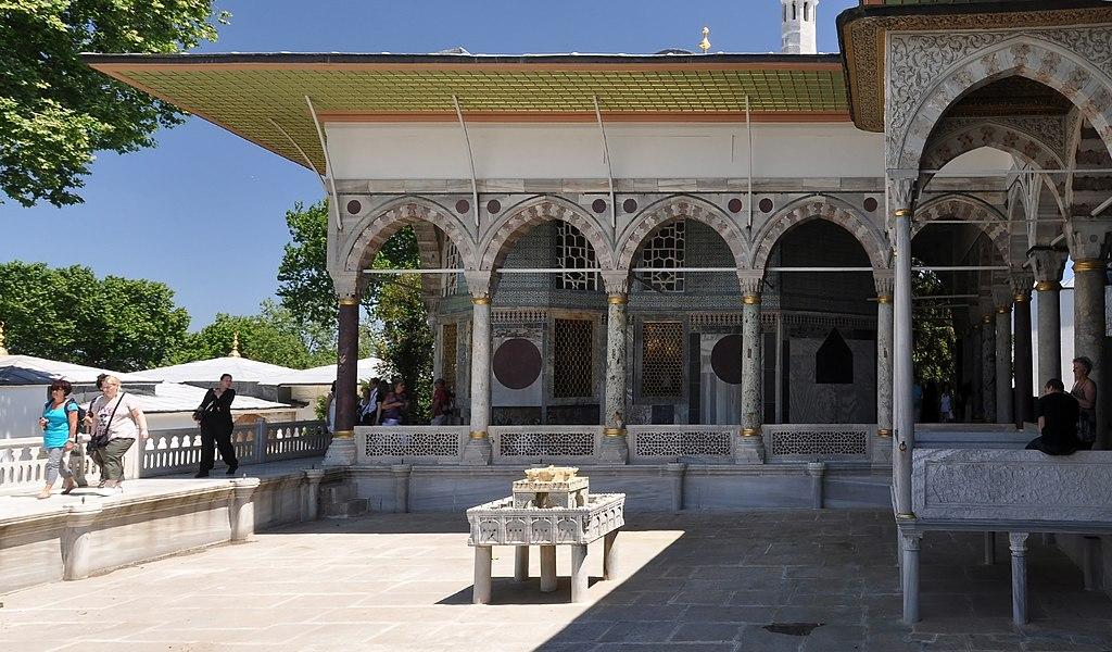 Yerevan Kiosk in the Topkapı Palace, Istanbul, Turkey 005