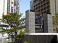 Yodobashi Bridge (from Osaka Station to Yodobashi Umeda) under construction.jpg