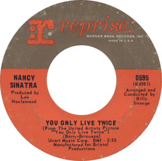 You Only Live Twice (song) 1967 single by Nancy Sinatra