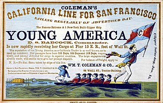 Young America (clipper) - Image: Young America 2