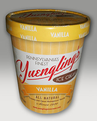 Yuengling - A quart of Yuengling vanilla ice cream