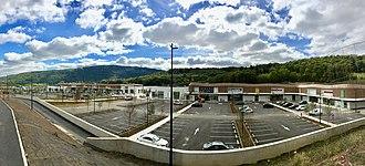 Retail park - A retail park in Besançon, France
