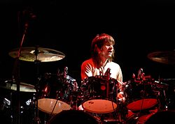 Zak Starkey con i The Who nel 2008