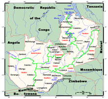 Outline of Zambia Wikipedia